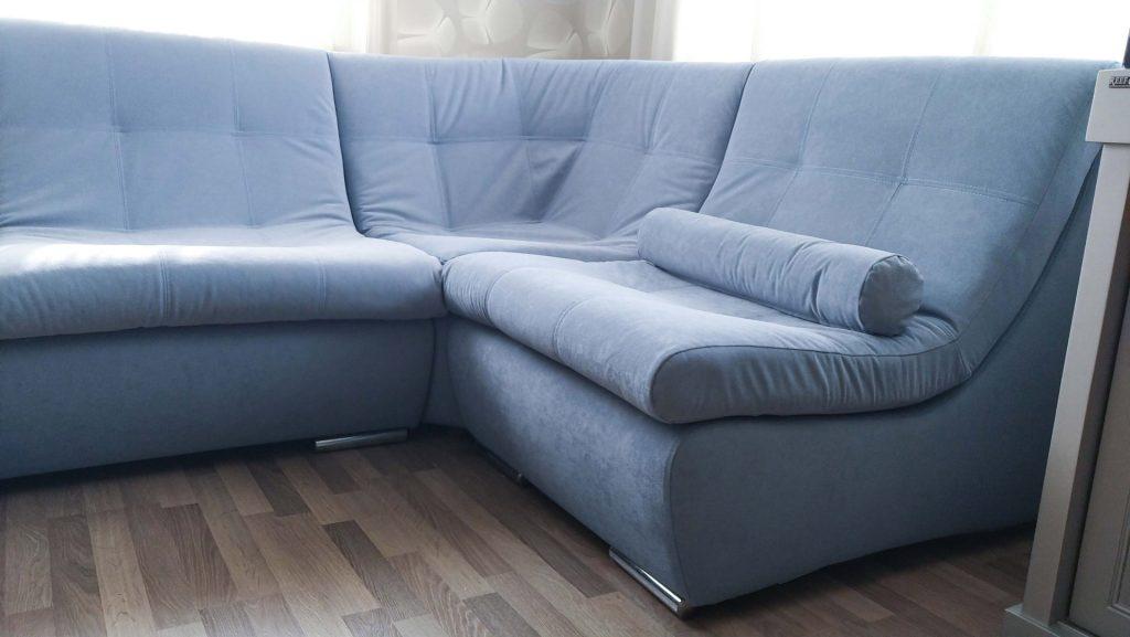 претяжка углового дивана модерн 4 в киеве