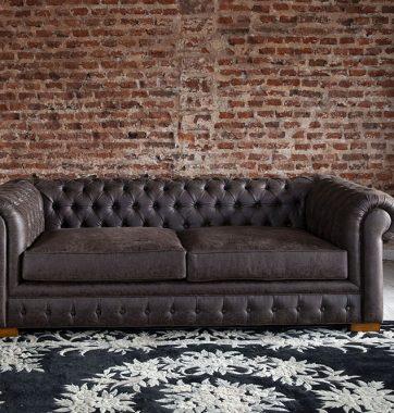 Перетяжка дивану Честерфілд