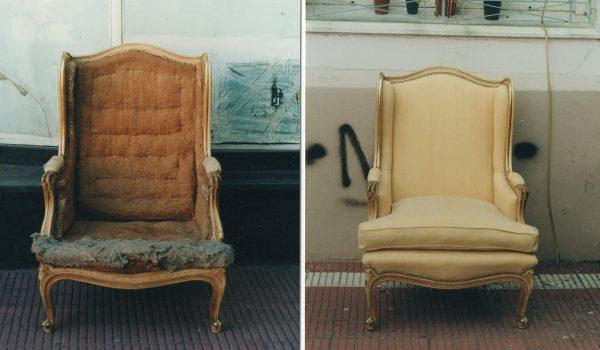 антикварне венеціанське крісло